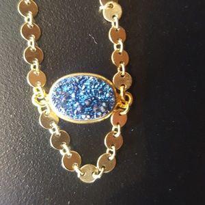 Druzy Necklace by Lucky Star